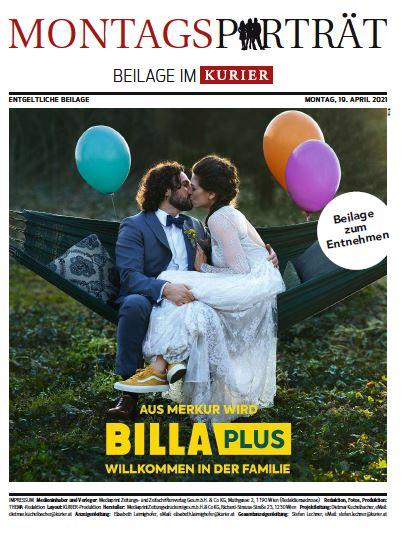 KURIER Montagsporträt Billa Plus