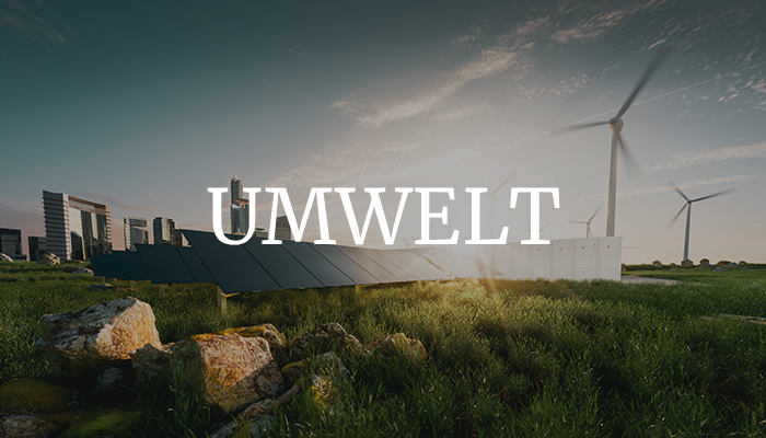 UMWELT & ÖKOLOGIE