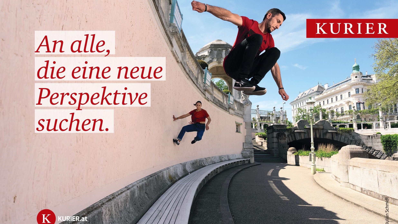 KURIER Imagekampagne