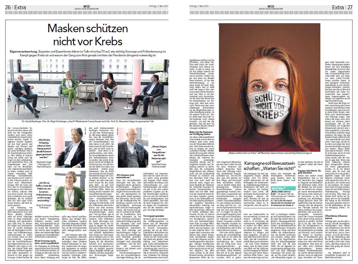 MSD Nachberichterstattung Hauptblatt